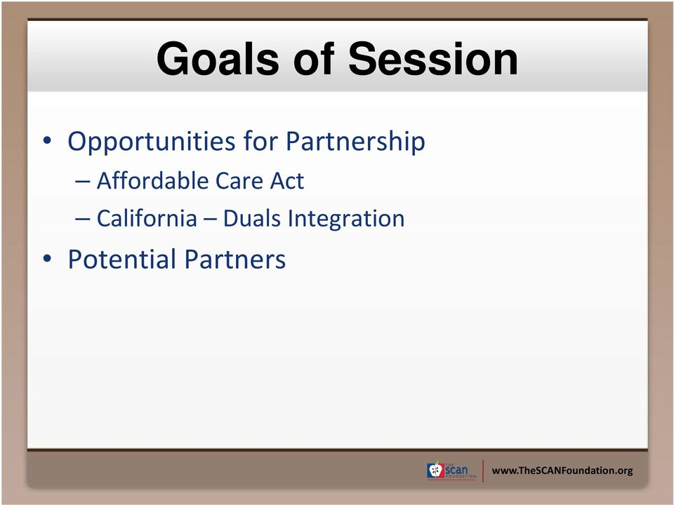 Partnership Affordable Care