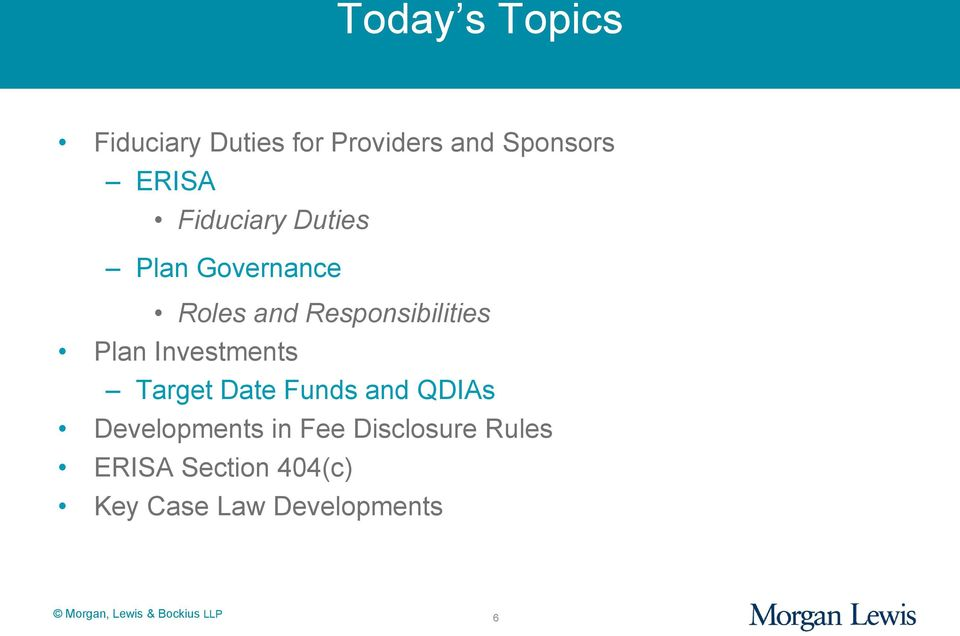 Responsibilities Plan Investments Target Date Funds and QDIAs