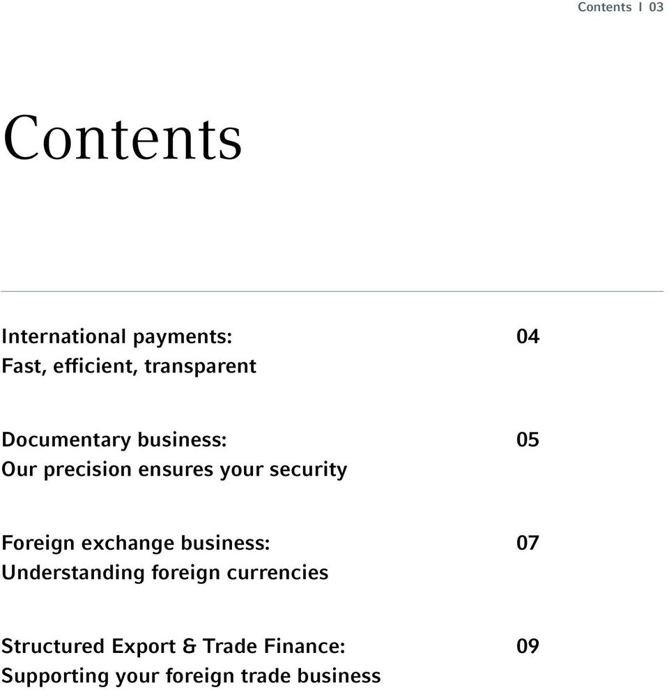 security 05 Foreign exchange business: Understanding foreign
