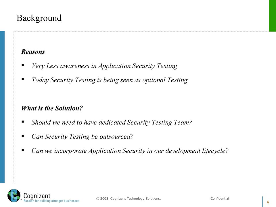 Should we need to have dedicated Security Testing Team?