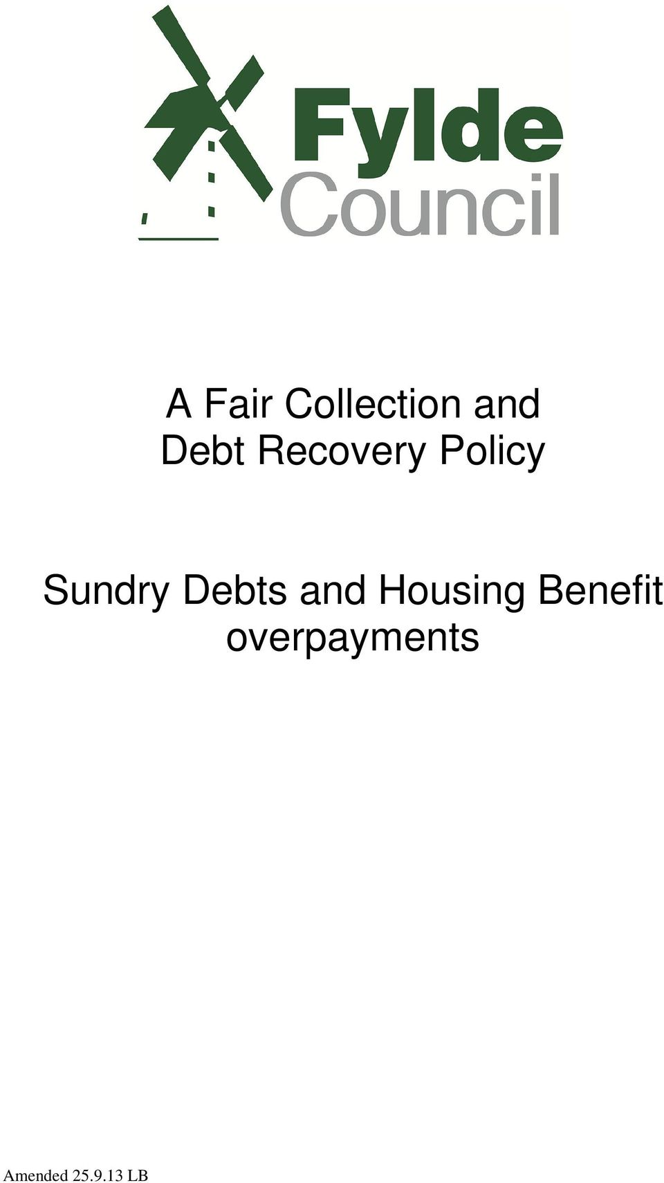 Sundry Debts and