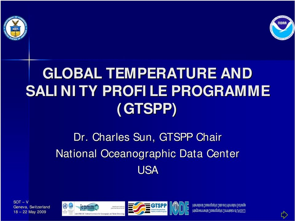 Charles Sun, GTSPP Chair