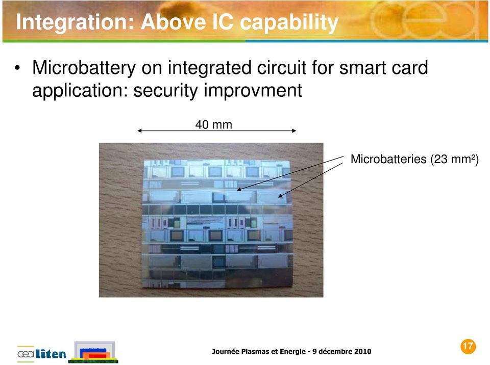 for smart card application: security