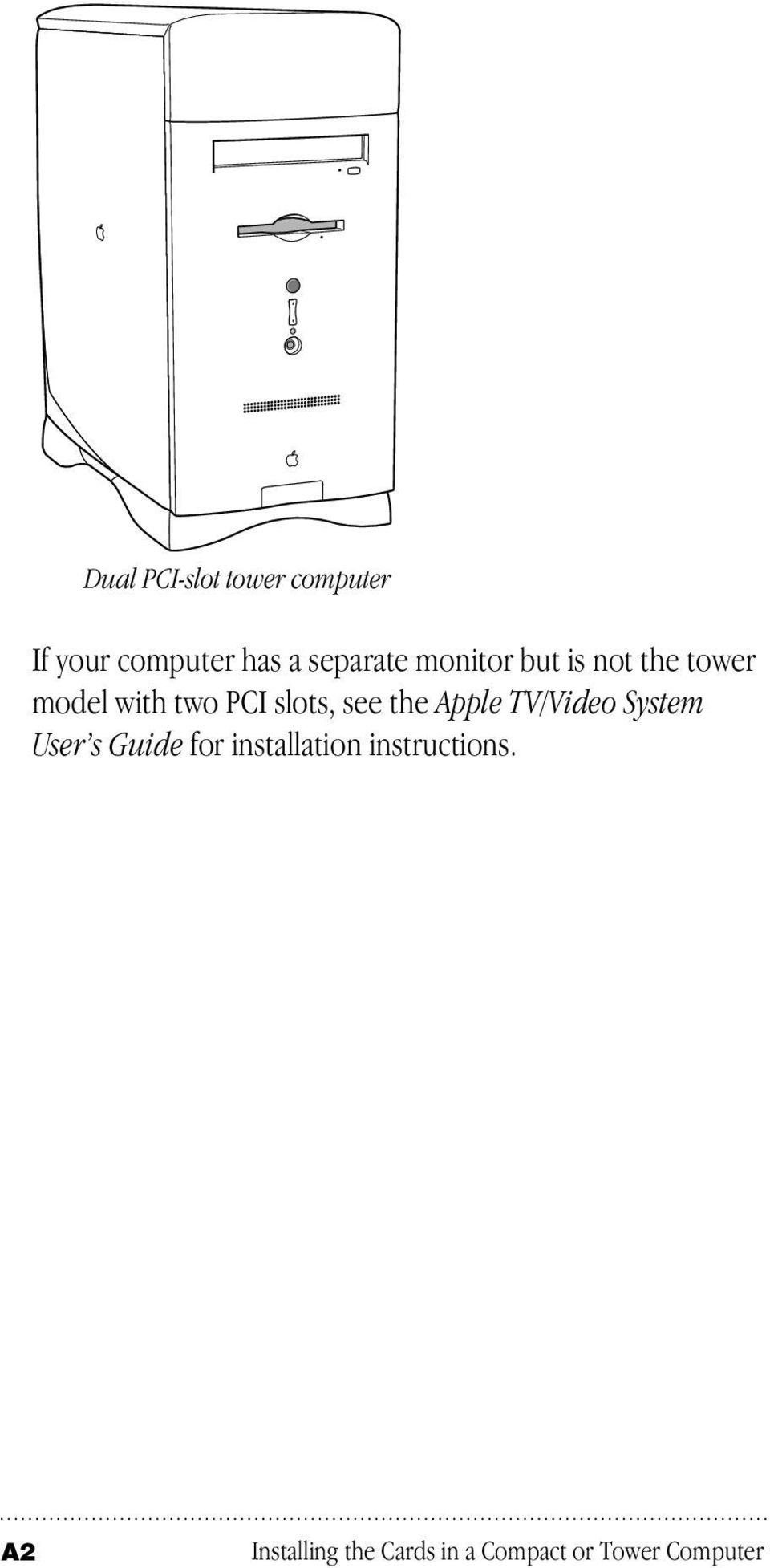 the Apple TV/Video System User s Guide for installation