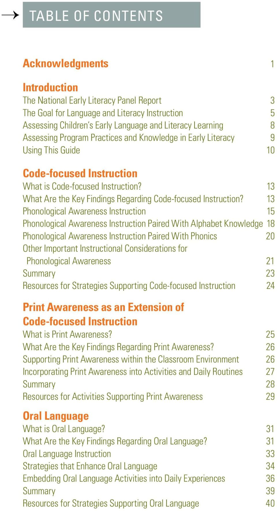 An Introductory Teacher Works Guide For Early Language And