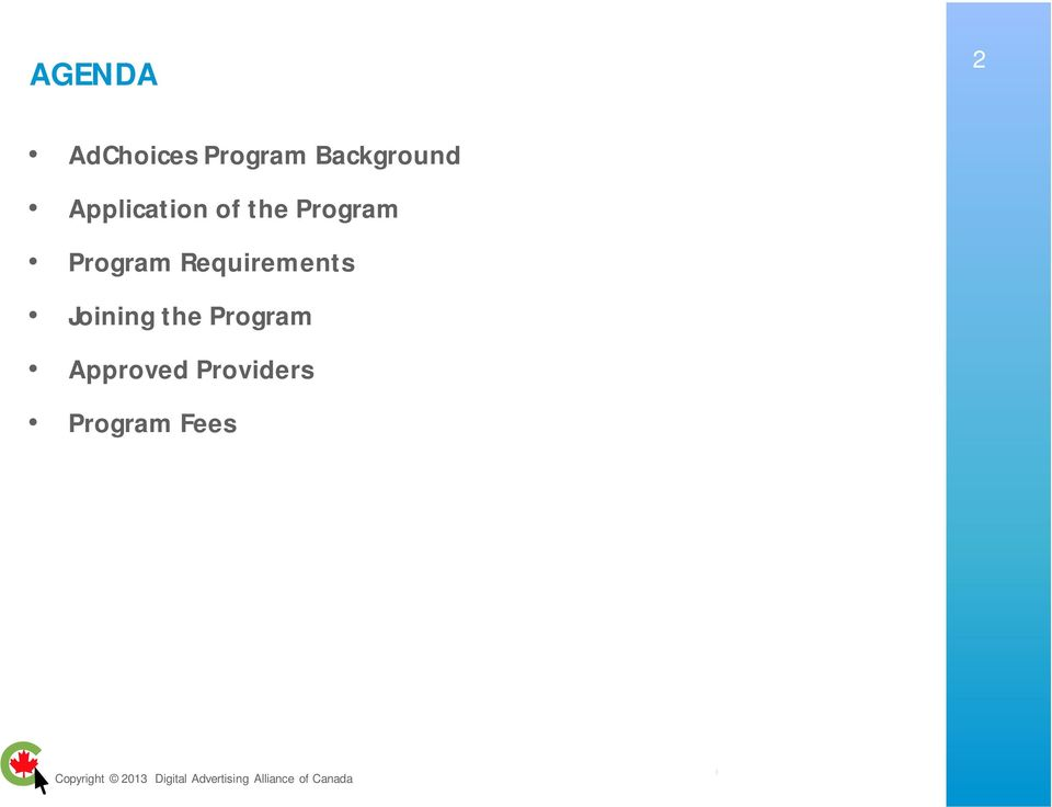 Program Program Requirements