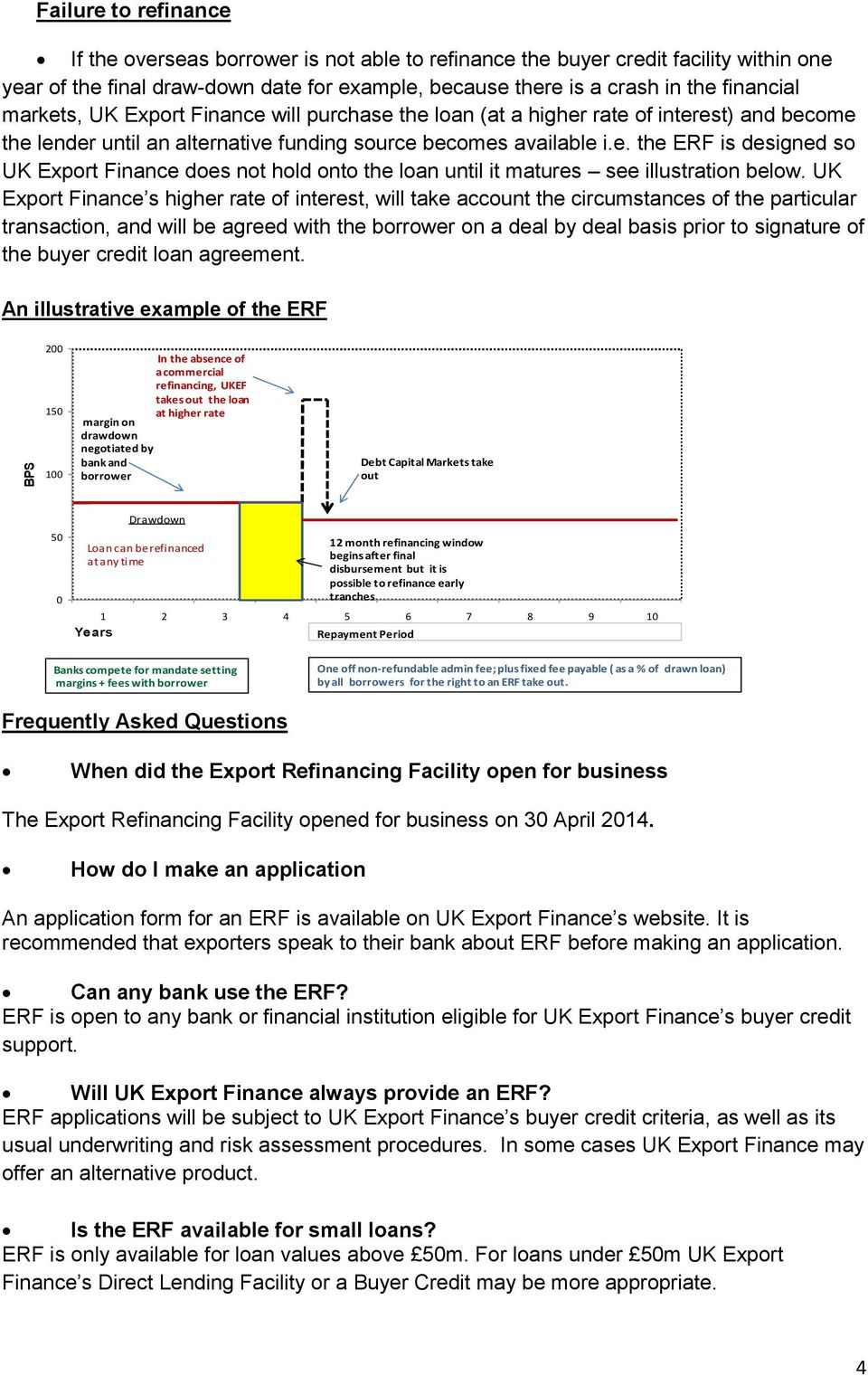 UK Export Finance s higher rate of interest, will take account the circumstances of the particular transaction, and will be agreed with the borrower on a deal by deal basis prior to signature of the