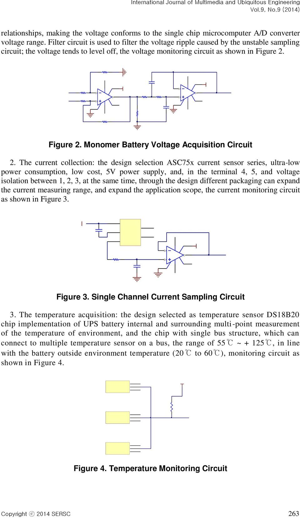 2P A3U 46PCM CVA 8 6 CVA 9NICA 8NICA International Journal of Multimedia and Ubiquitous Engineering relationships, making the voltage conforms to the single chip microcomputer A/ converter voltage