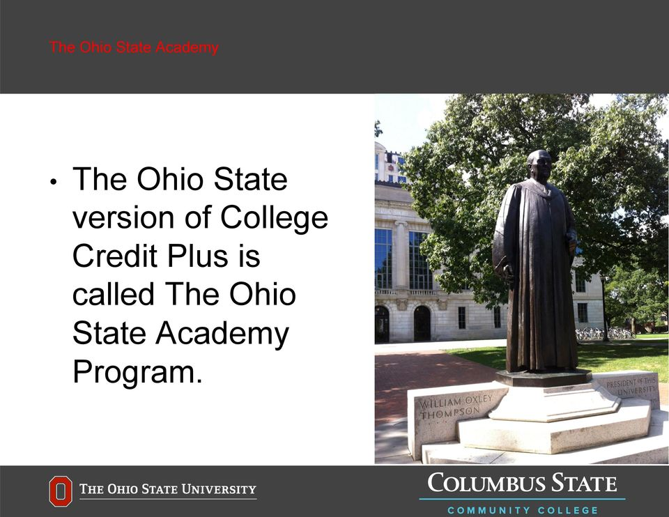 College Credit Plus is