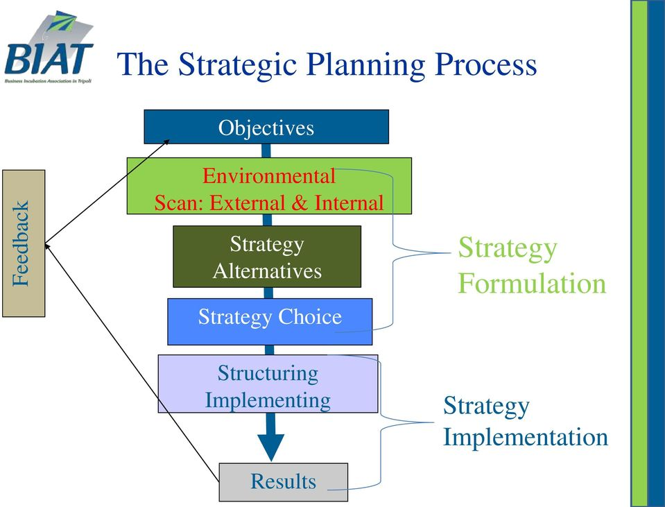 Alternatives Strategy Choice Structuring