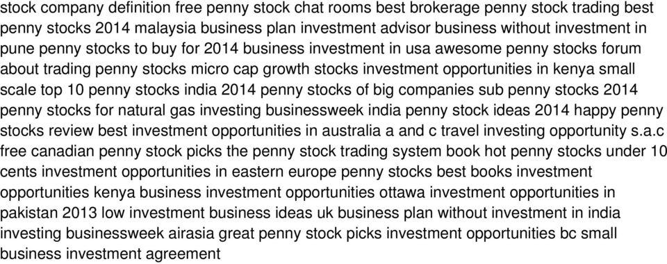 2014 penny stocks of big companies sub penny stocks 2014 penny stocks for natural gas investing businessweek india penny stock ideas 2014 happy penny stocks review best investment opportunities in