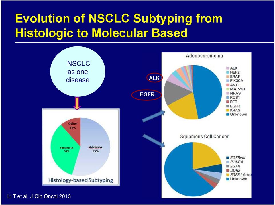 Based NSCLC as one disease ALK