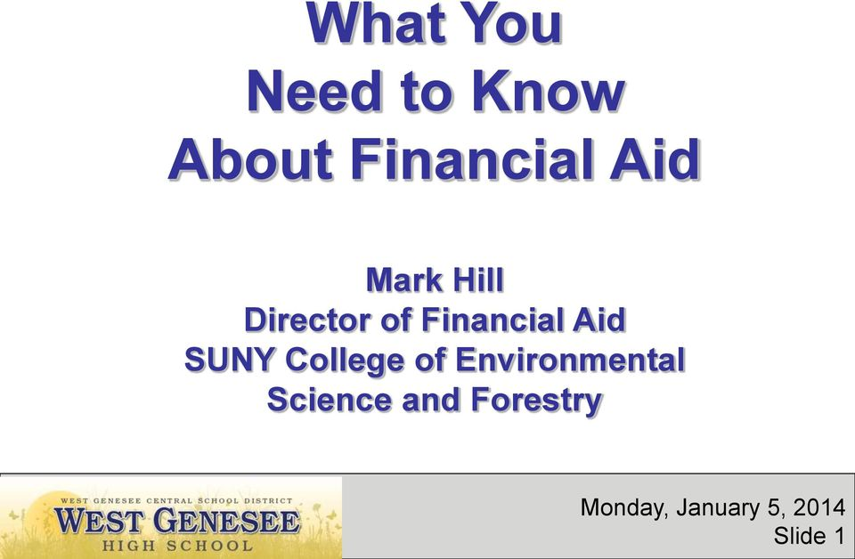 SUNY College of Environmental Science