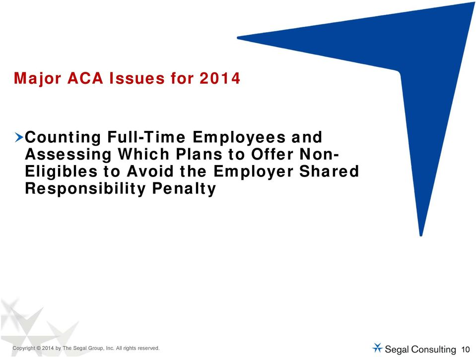 Avoid the Employer Shared Responsibility Penalty