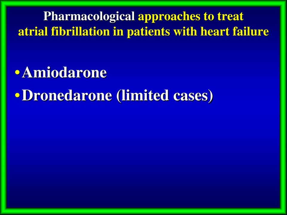 patients with heart failure