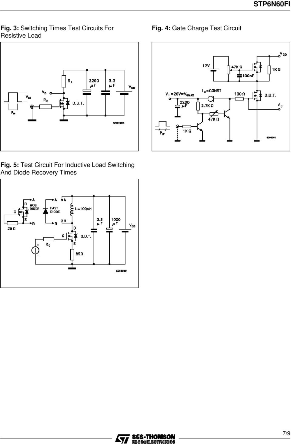 4: Gate Charge Test Circuit Fig.