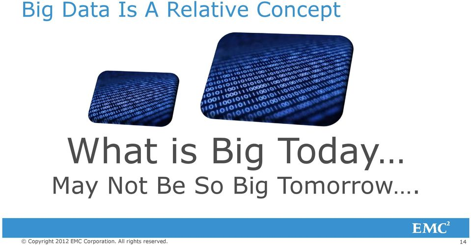 What is Big Today