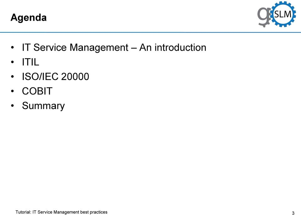 introduction ITIL