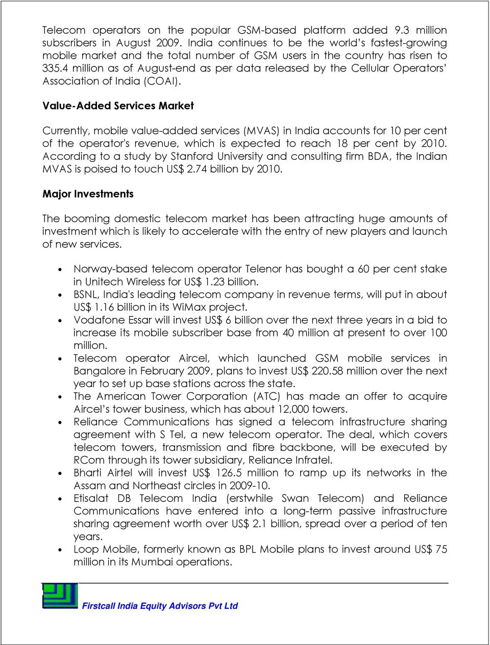 Reliance Communications Ltd (RCOM) - PDF