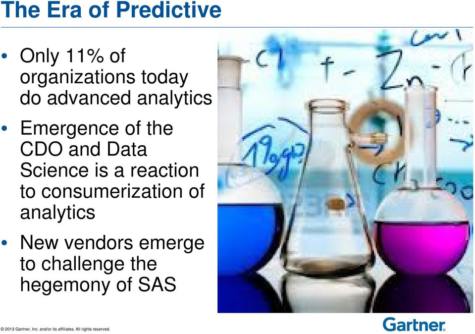 Data Science is a reaction to consumerization of
