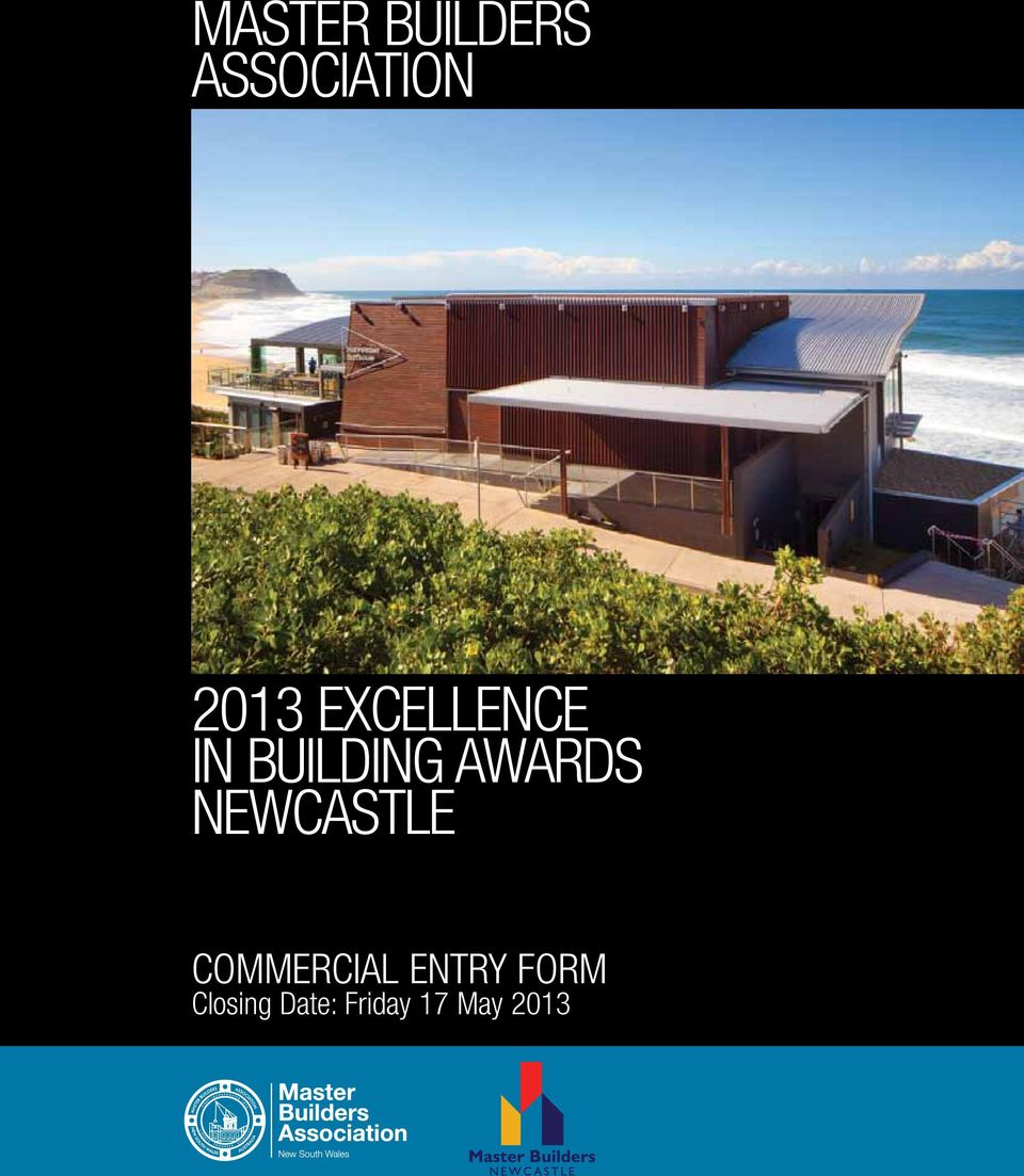 Awards Newcastle COMMERCIAL