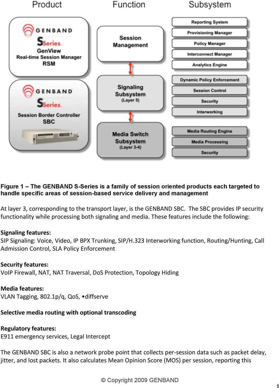 thesefeaturesincludethefollowing: Signalingfeatures: SIPSignaling:Voice,Video,IPBPXTrunking,SIP/H.