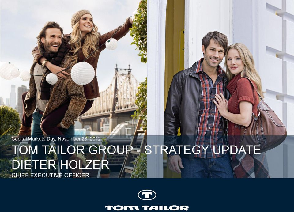 TAILOR GROUP - STRATEGY
