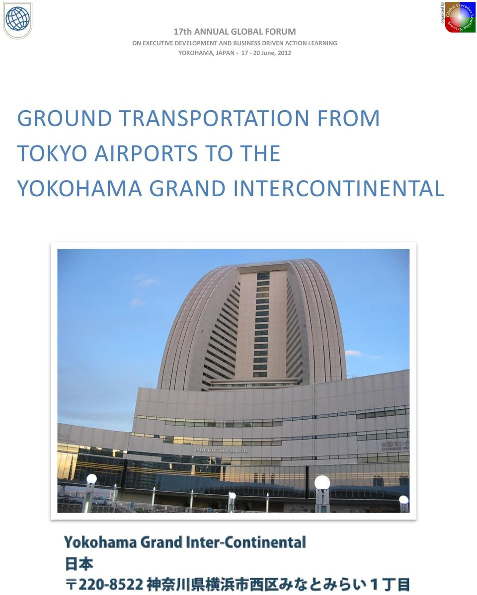 TOKYO AIRPORTS TO