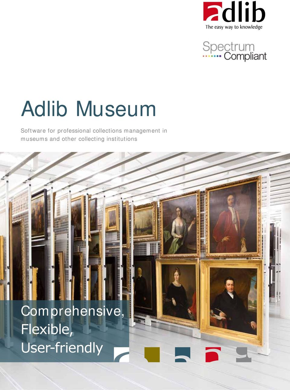 in museums and other collecting