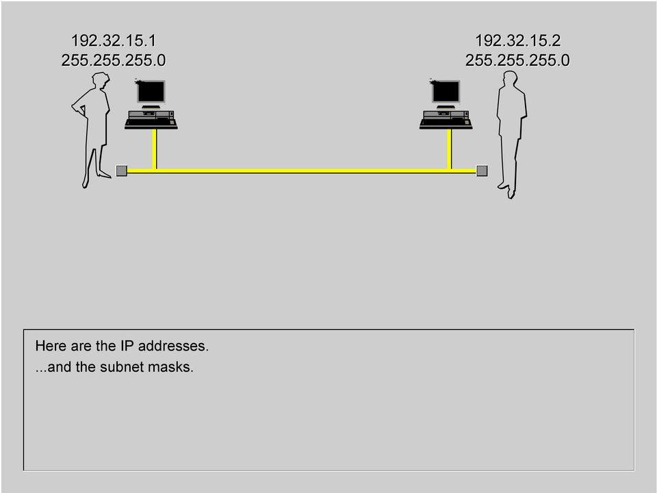 IP addresses.