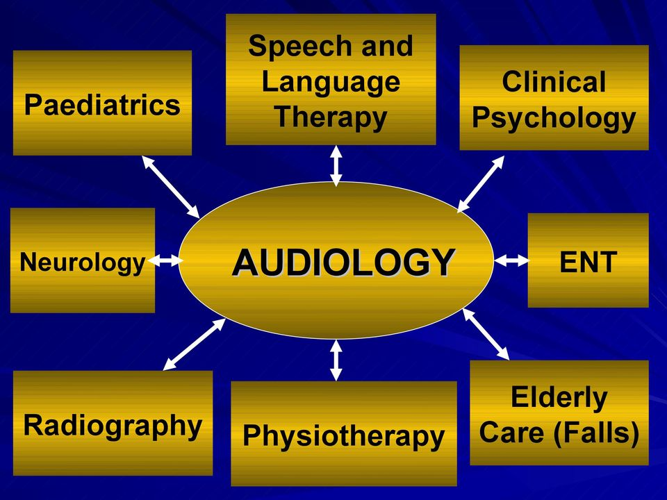 Therapy AUDIOLOGY Physiotherapy