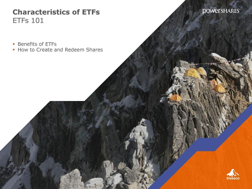 of ETFs How to
