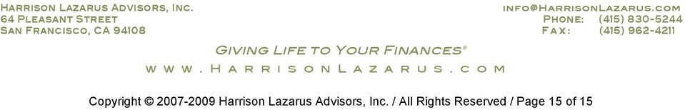 Advisors, Inc.