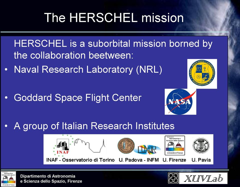 Naval Research Laboratory (NRL) Goddard Space