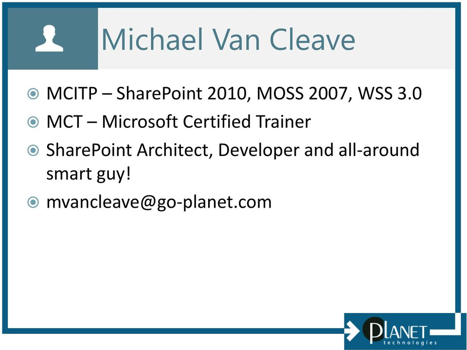 0 MCT Microsoft Certified Trainer