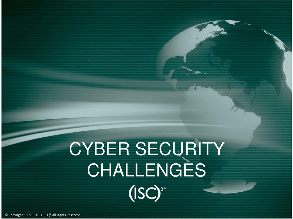 2010 CYBER SECURITY CHALLENGES