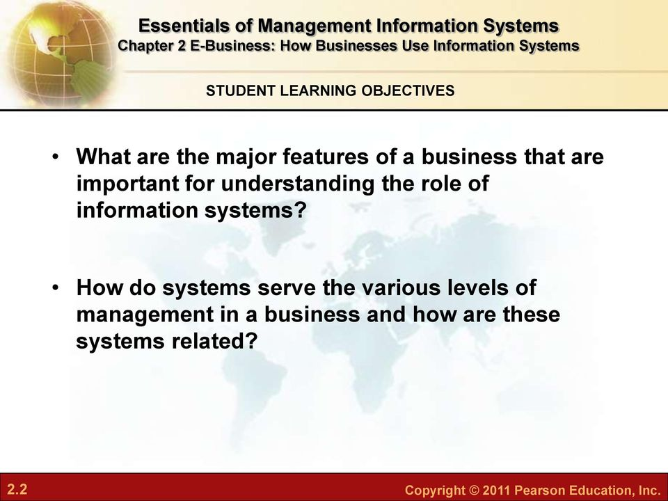 How do systems serve the various levels of management in a business and