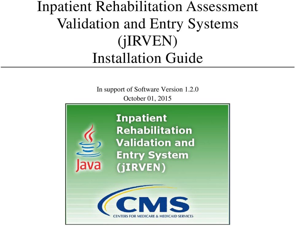 (jirven) Installation Guide In