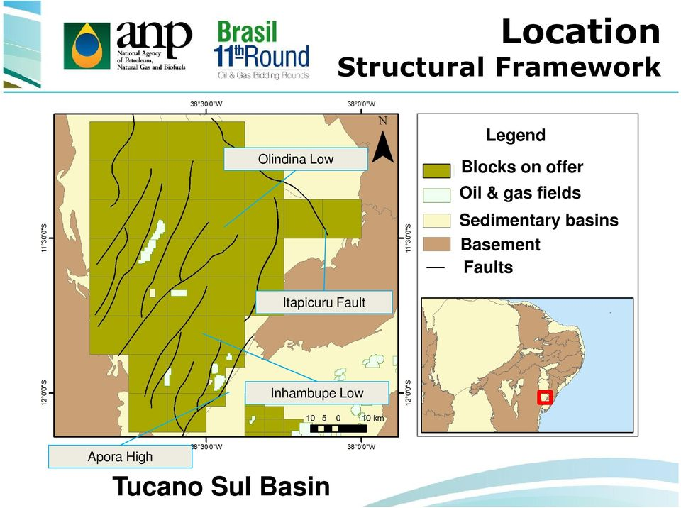 Sedimentary basins Basement Faults