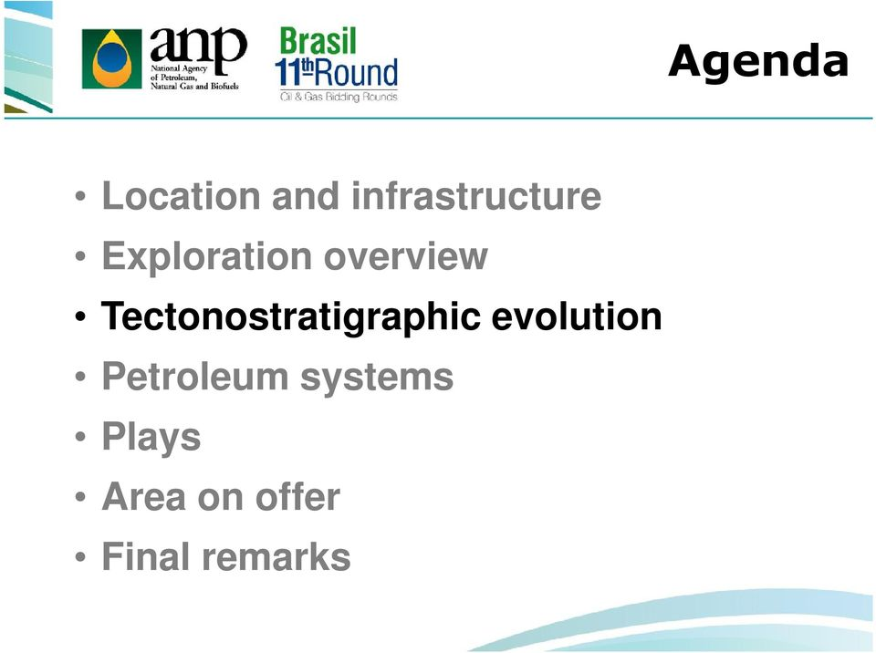 Tectonostratigraphic evolution