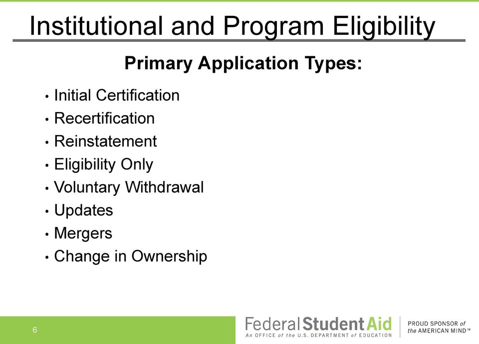 Recertification Reinstatement Eligibility Only