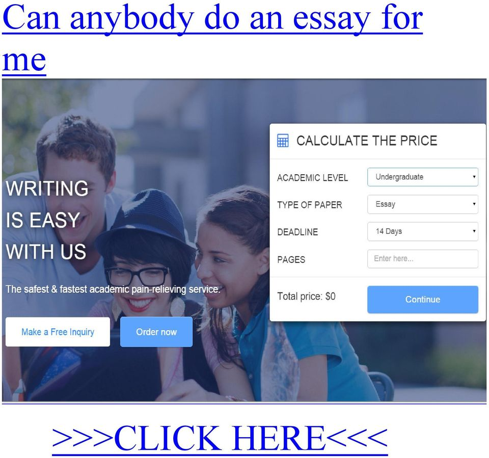 Can anybody do an essay for me >>>CLICK HERE<<< You need to focus more where your running and adapt to your