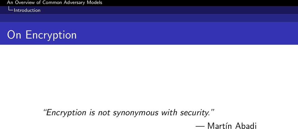 is not synonymous