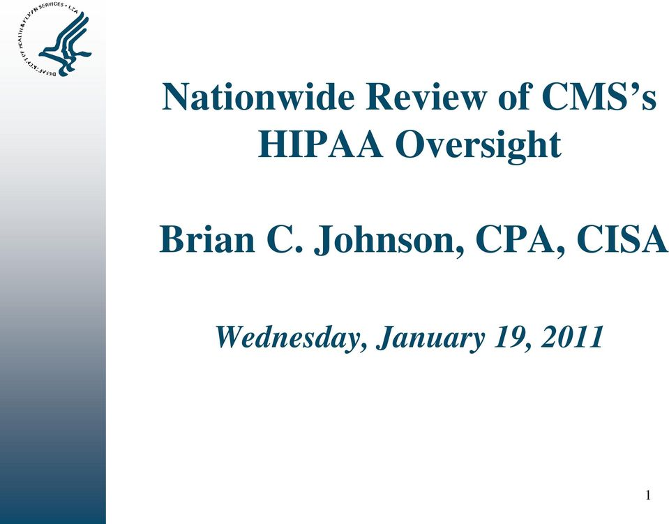 C. Johnson, CPA, CISA