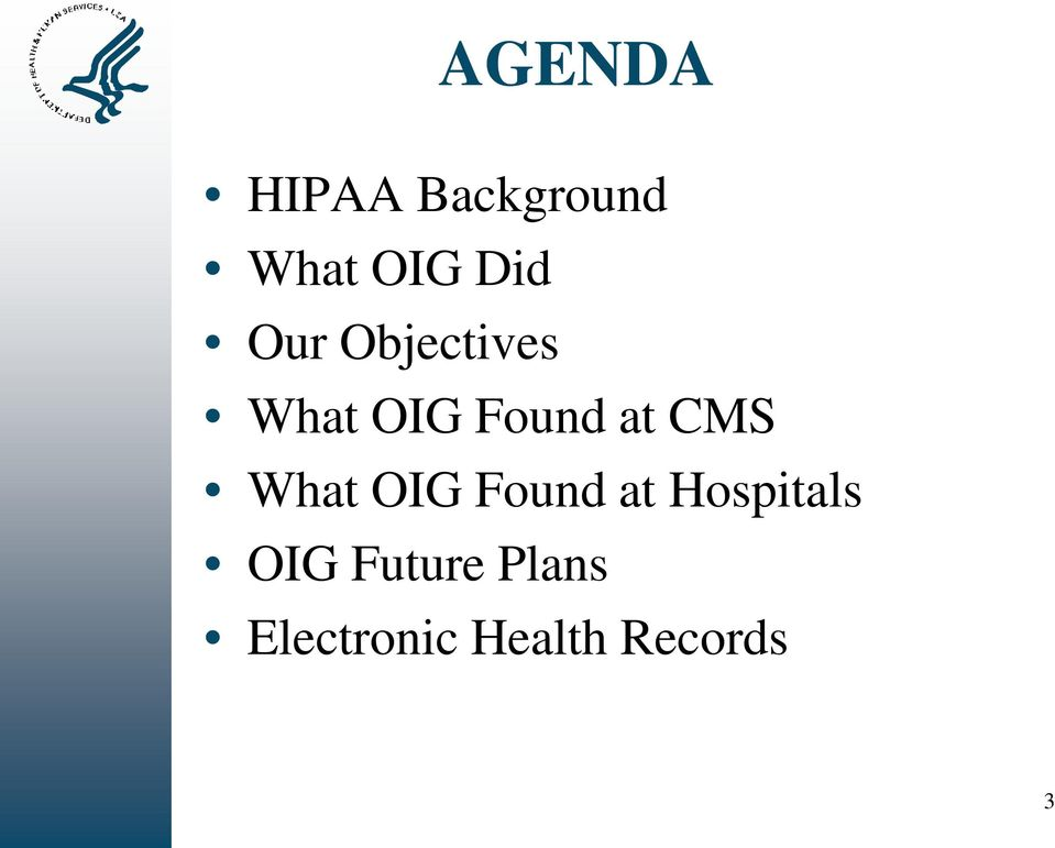 What OIG Found at Hospitals OIG
