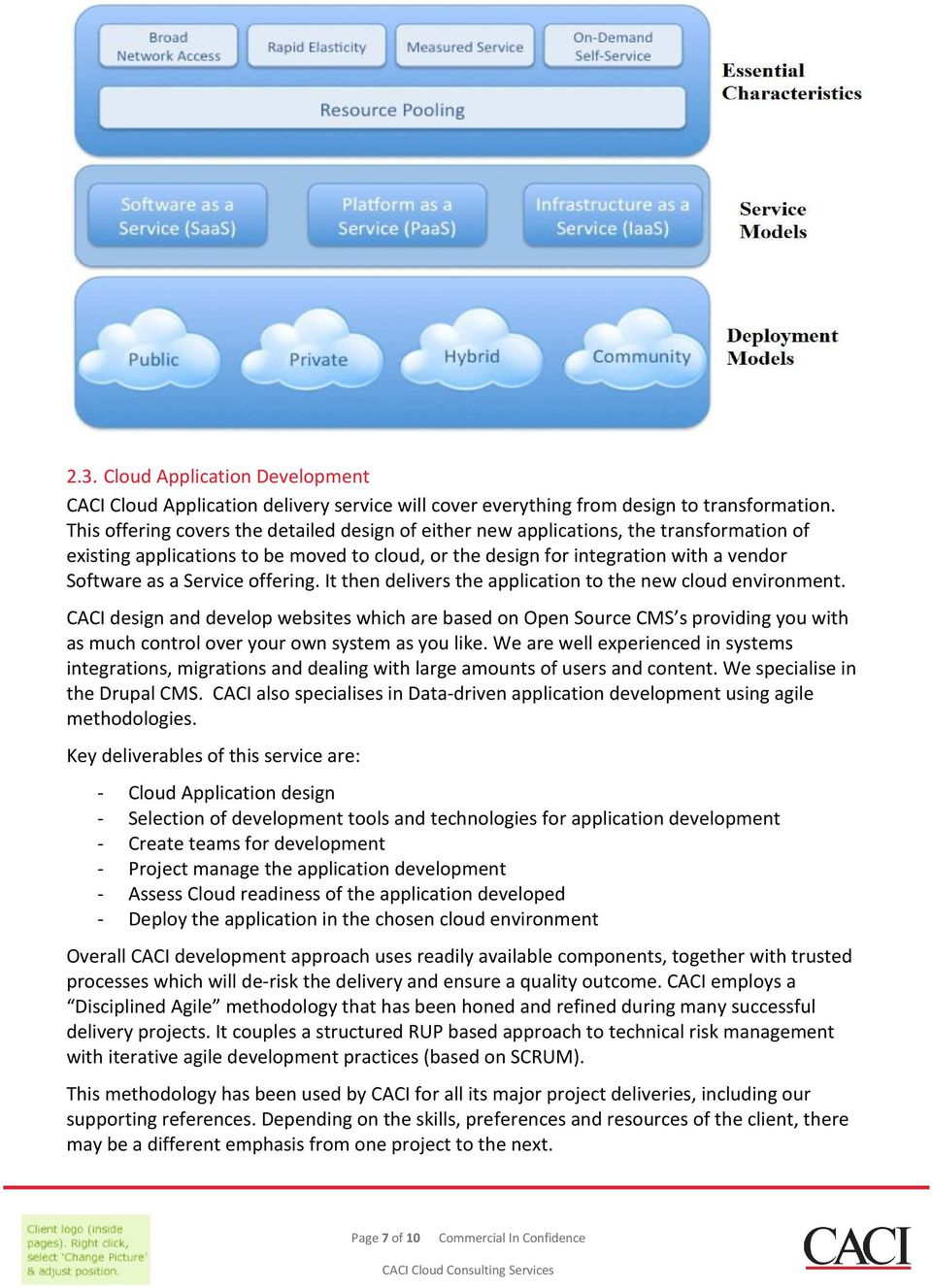 Service offering. It then delivers the application to the new cloud environment.