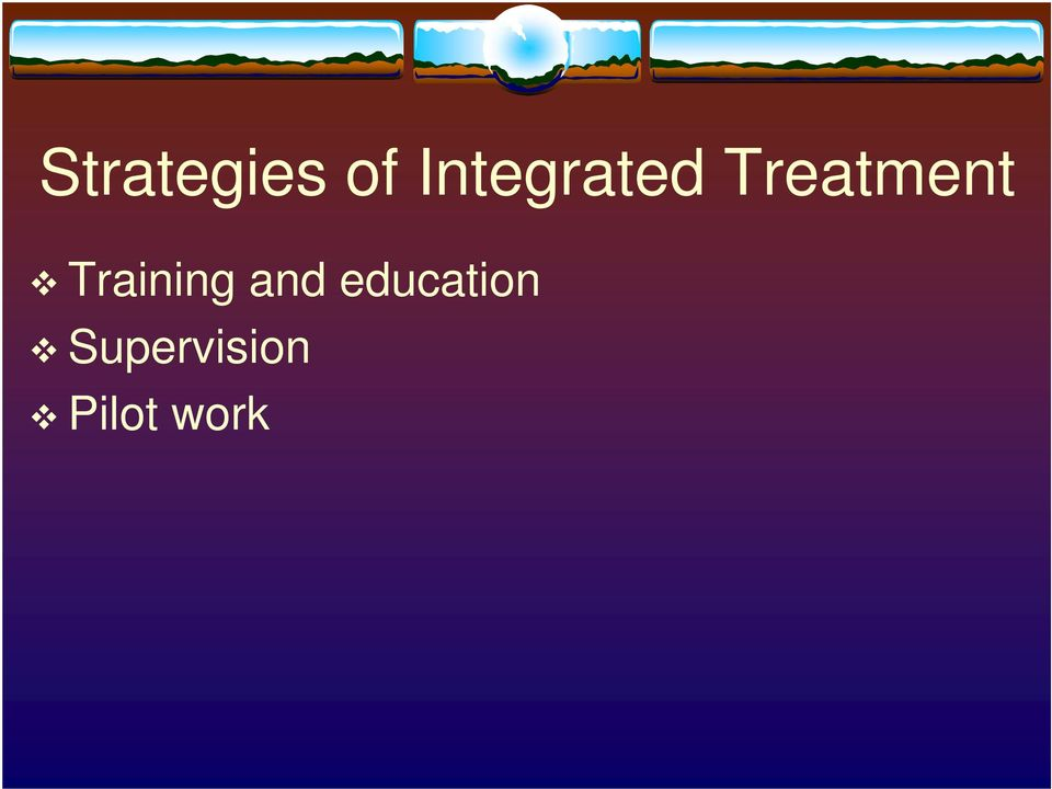 Treatment Training