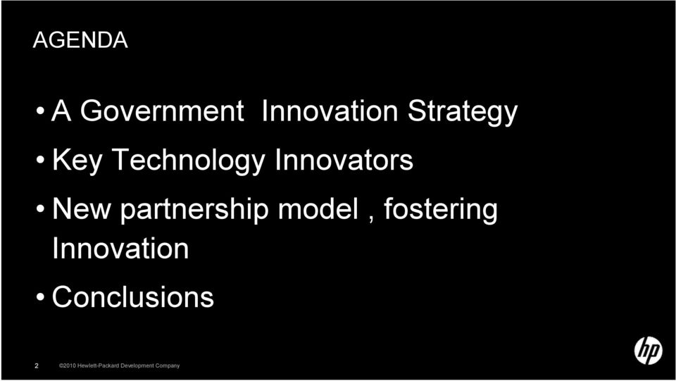 partnership model, fostering Innovation