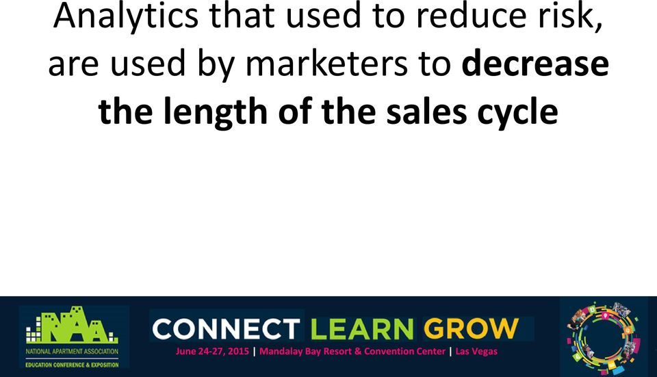 marketers to decrease