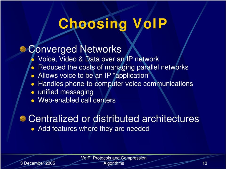 phone-to-computer voice communications unified messaging Web-enabled call centers